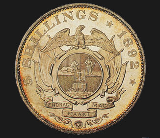 5 Shilling - Double Shaft (Crown)