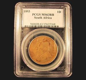 1893 Bronze Penny