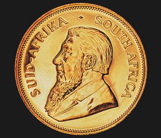 ¼ oz Kruger Rand