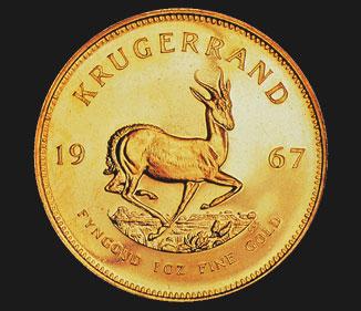 1 oz Kruger Rand