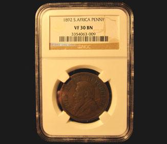 1892 Bronze Penny